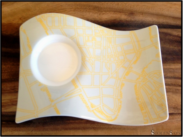 NewWave Caffe Party Plate